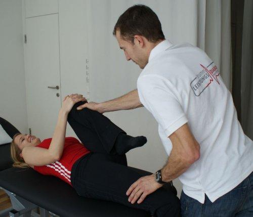 Muskelfunktions- und Beweglichkeitstest