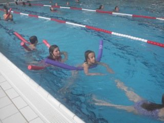 Schulschwimmkurs
