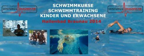 Schwimmkurse Braunau 2014