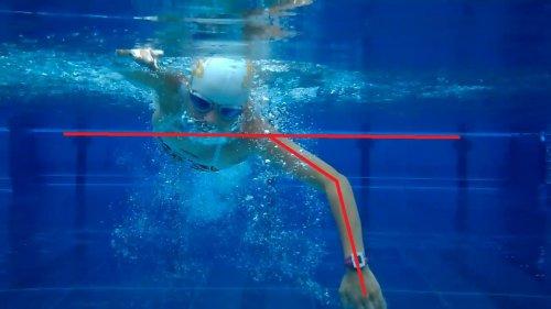 Schwimmtraining mit HD Video