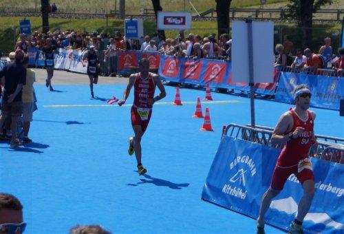 Top Ergebnis bei Triathlon EM